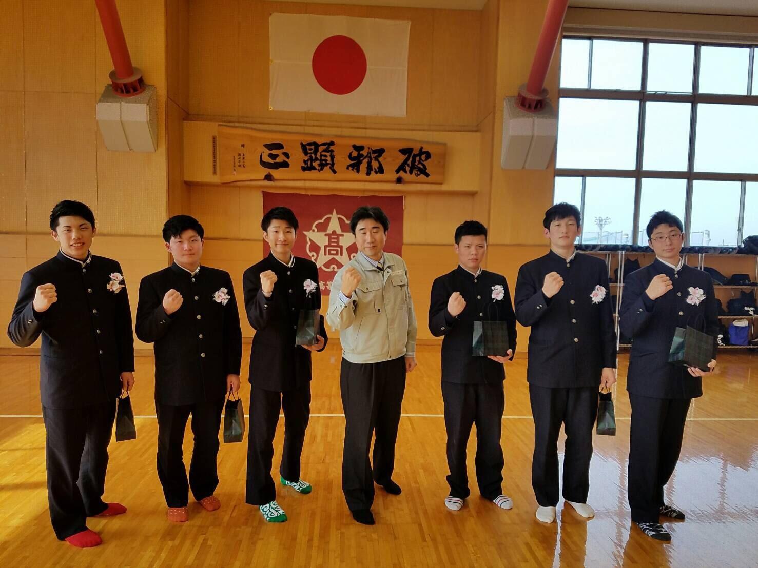 最近の投稿カテゴリーアーカイブ3年生が卒業しました新潟明訓高校 剣道OB会